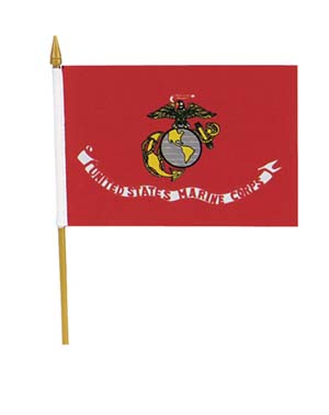 usmc mini flags