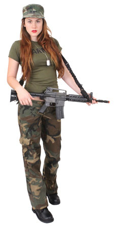 GI Dame Costume  sc 1 st  Army Navy Shop & Army Navy Shop Halloween Costumes