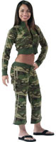Camouflage Clothes Womens Camo Sweatshirts