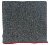 Military Blankets - Grey Wool Rescue Blanket