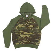 Womens Camouflage Sweatshirts Womens Camo Hooded Sweatshirts 2XL