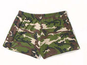 Camouflage Hot Shorts Womens Camouflage Swimwear Hot Shorts