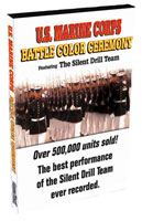 Military DVD USMC Battle Color Ceremony DVD