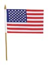 US Flags 4x6 US Stick Flags