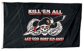 Kill Em All Flags / Banners