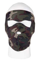 Camouflage Face Mask Neoprene Camo FaceMask