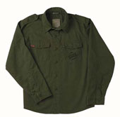Fatigue Shirts Olive Drab Vintage Fatigue Shirt