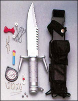 Ramster Survival Kit Knife - Survival Knives