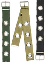 Womens Belts Vintage Womens Belt W/Grommets