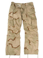 Womens Camouflage Fatigue Desert Camo Vintage Paratrooper Fatigues