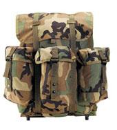 Camouflage Alice Packs GI Plus Medium Alice Pack w/Frame