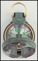 Military Lensatic Camouflage Compass - Military Compasses
