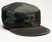 Camouflage Caps Vintage Camo W/Star Military Fatigue Cap