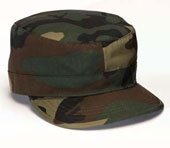 Military Camouflage Fatigue Caps Camo Adjustable Fatigue Cap
