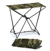 Folding Camp Stools - Camouflage Stool