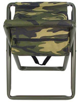 Deluxe Camping Stools - Folding Camo Stool