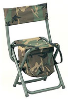 Deluxe Camping Chairs - Camo Folding Chair