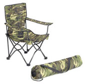 Deluxe Camouflage Folding Arm Chairs