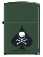 Zippo R Lighters Military Death Spade Zippo R Lighter