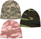 Camouflage Infant Crib Caps