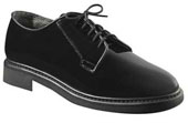 Military Shoes Hi Gloss Navy Oxfords Wide Widths