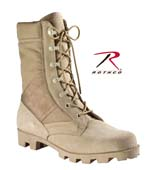 Military Boots GI Type Jungle Boots Wide Widths