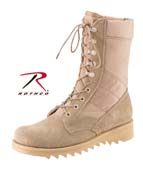 Jungle Boots Military Type Desert Tan Jungle Boots