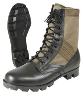 Military Boots Olive Drab Jungle Boots Wide Widths