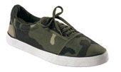Ladies Camouflage Sneakers: Woodland Camo