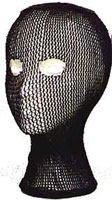 Military Head Nets - Black Head Net