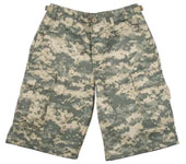 Kids Camouflage Shorts Digital Camo Cargo Shorts