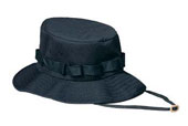 Kids Military Jungle Hats - Black