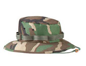 Camouflage Jungle Hats - Woodland Camo Hat