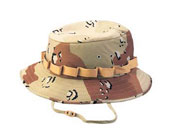 Kids Camo Jungle Hats - Desert Camouflage