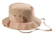 Camouflage Jungle Hats Tri-Color Desert Camouflage Jungle Hat