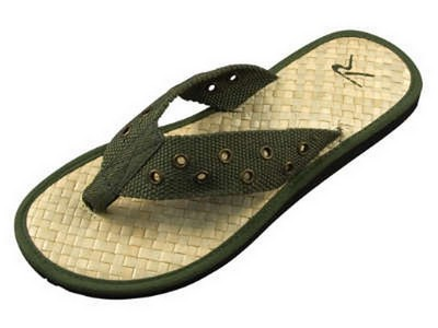 Military Pistol Belt Sandals Olive Drab