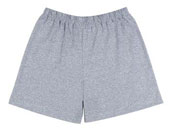 Physical Training Shorts Plain Grey Shorts