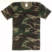 Camouflage Shirts Camo Thermal Knit Shirt 5XL