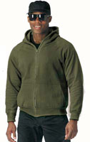 Sweat Jackets Thermal Lined Sizes 2XL 3XL