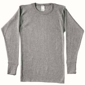 Thermal Tops Grey Thermal Top
