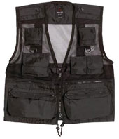 Recon Vests Black Vest 3XL