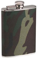 Camouflage Flasks - Stainless Steel