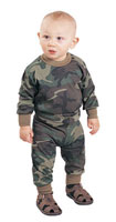 Infant Camo Shirt  - Camouflage Baby Clothing
