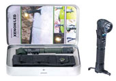 Xenon/LED Tactical Anglehead Flashlight