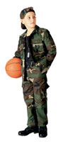 Kids Camouflage Shirts - Boys Fatigues (BDU)