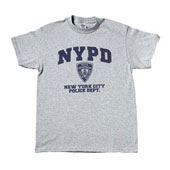 Genuine NYPD Physical Training T-Shirts 2XL