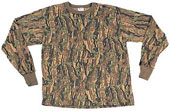 Camouflage T-Shirts  Smokey Branch Hunters Camo Long Sleeve Shirt 2XL