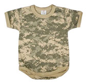 Digital Camouflage Infants Onesie
