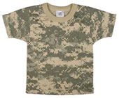 Digital Camouflage Infants T-Shirts