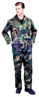 Coveralls Woodland Camouflage - Camo Coverall